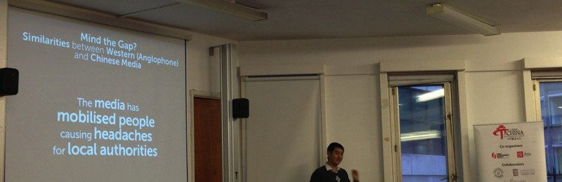 David Feng Presented Talk on Invisible Censorship at LSE