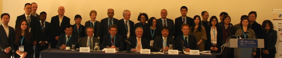 Taking Part in the 2nd Global China Dialogue at the British Academy