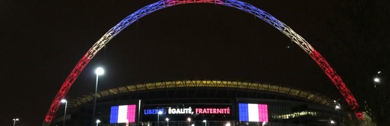 Liberté, Égalité, Fraternité, Wembley