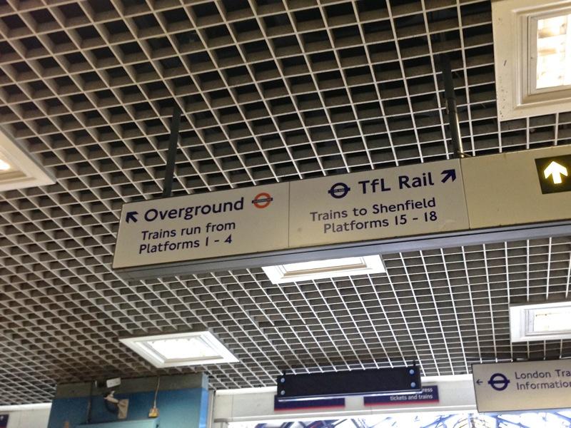 TfL Rail Liverpool Street