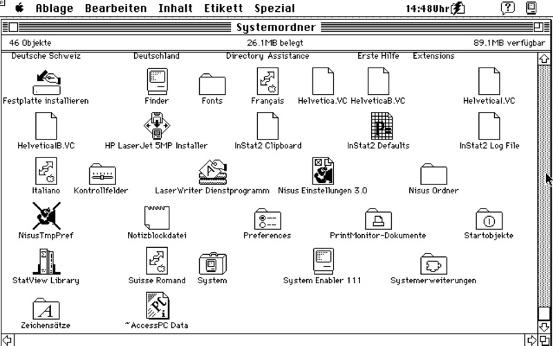 System 7 CHDE 800