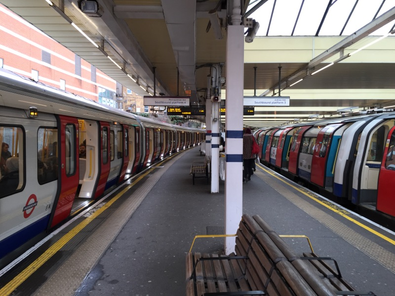 Finchley Road trains