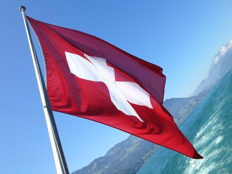 Swiss flag 800