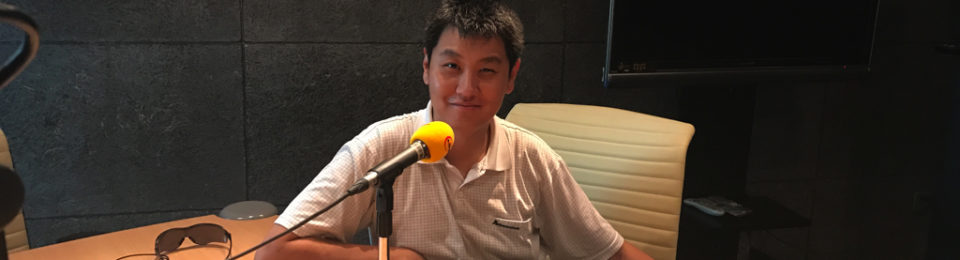 Live on Radio Beijing: Of Trains and Stations!